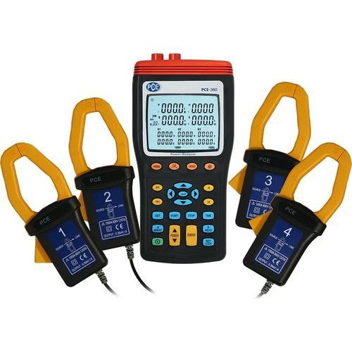 Pce Instruments - Leistungsmesser PCE-360 für 1- & 3-Phasen, inkl. Software