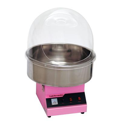 Winco 81011 Zephyr Cotton Candy Machine w/ 60 Cones/hr Capacity - No Dome, 120v