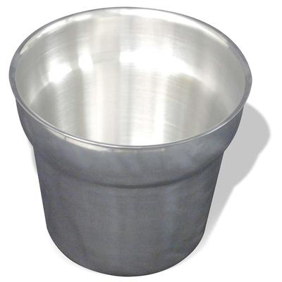 Winco 56750 7 qt Inset Pan, Stainless Steel