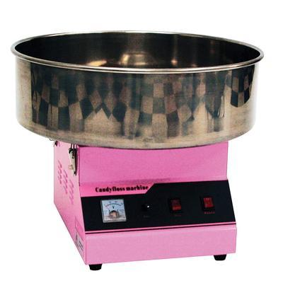 Winco 81011A Zephyr Cotton Candy Machine w/ 60 Cones/hr Capacity, 120v