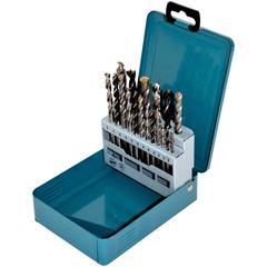 Makita Bohrersatz D-46202, (Set, 18 tlg.) blau Profi-Werkzeug Werkzeug Maschinen