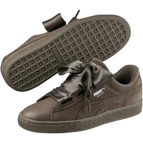 Puma Damen Sneaker Suede Heart Bubble Wn, Größe 36 in BUNGEE CORD-BUNGEE CORD