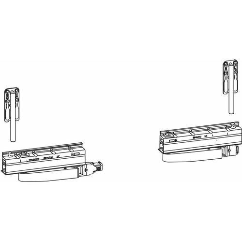HAUTAU ATRIUM HKS 160 S ohne Zentralverschluss,links, 160kg, 1 Grundkarton | Zubehör Beschläge für
