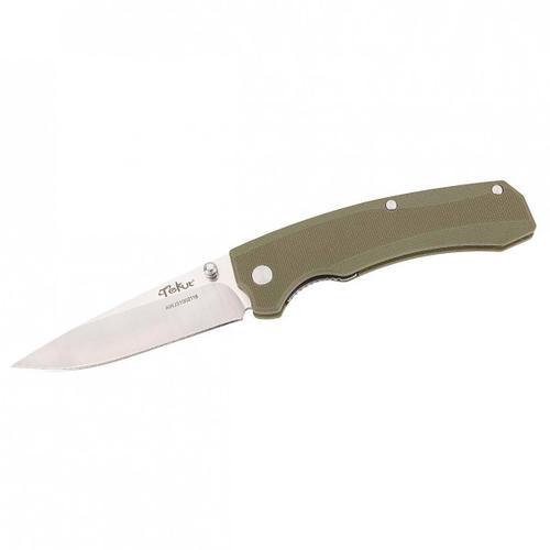 Tekut - Einhandmesser Zero - Messer Gr 8 cm Klinge grün