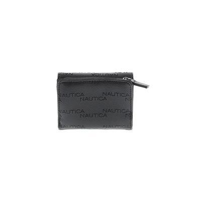 Nautica - Nautica Wallet: Black Solid Bags