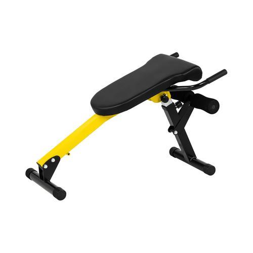 Gymrex Rückentrainer - einstellbar - zusammenklappbar - 130 kg GR-BT 50