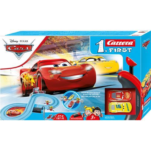 Carrera Autorennbahn First - Disney·Pixar Cars Race of Friends, (Set) bunt Kinder Autorennbahnen Autos, Eisenbahn Modellbau