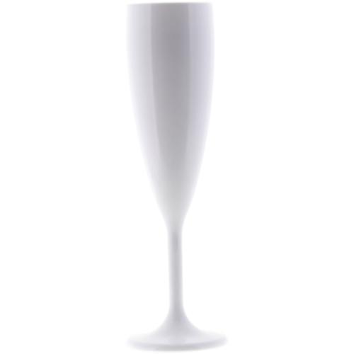 Q Squared NYC Champagnerglas, (Set, 4 tlg., x Gläser), Polycarbonat, 140 ml weiß Sektgläser Champagnergläser Gläser Glaswaren Haushaltswaren Champagnerglas