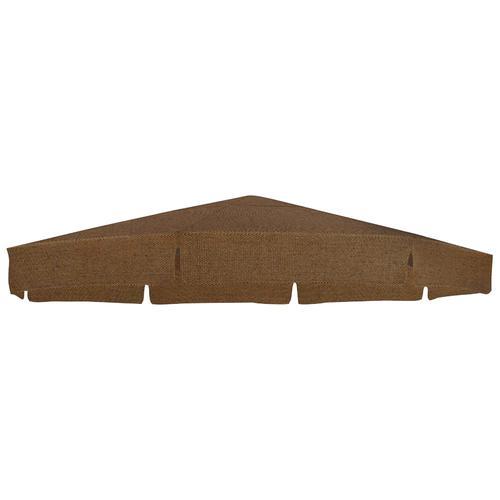 sungarden Ersatzschirmbespannung, Ø 350 cm, rund braun Ersatzschirmbespannung Sonnenschirme -segel Gartenmöbel Gartendeko