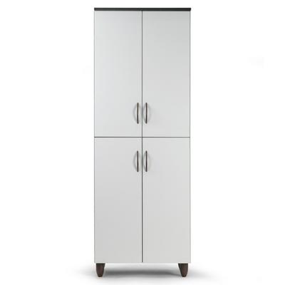 Anthea Four-door Shoe Cabinet with Four Shelves - Glamour Home GHSC-1407