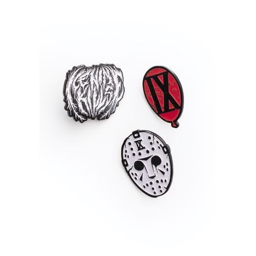 Ice Nine Kills - Ballon, Round Metal, Hockey Mask - Pins