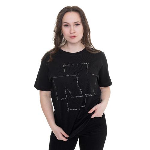 Rammstein - Stacheldraht Logo - - T-Shirts