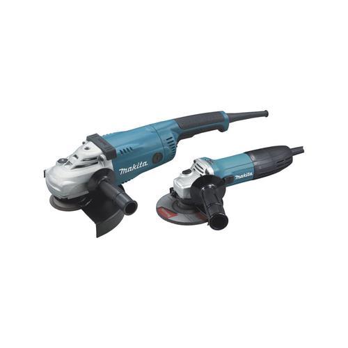 Schleifmaschine Ø230 2200W GA9020 + Schleifmaschine Ø125 720W GA5030R MAKITA - DK0097X1