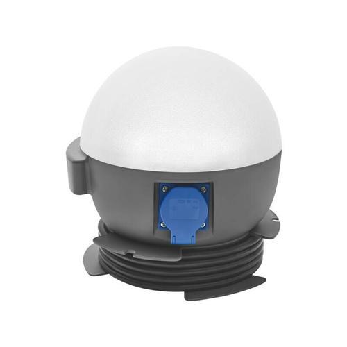 LED Arbeitsleuchte Future Ball 20W, mit Steckdose - Lena Lighting