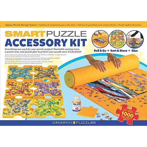 Smart Puzzle Zubehörpaket - Kleber, Puzzlematte & Sortierschalen