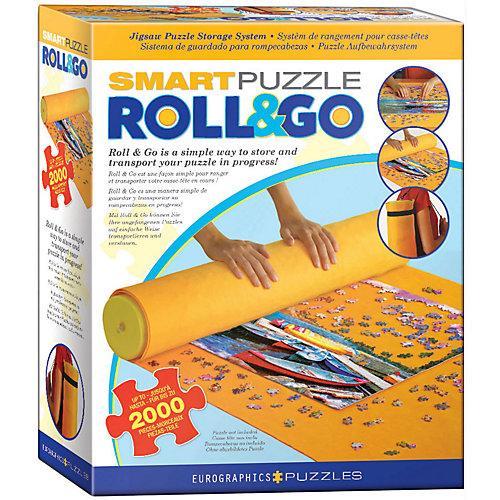 Puzzlematte Smart Roll & Go bis zu 2.000 Puzzleteile Kinder