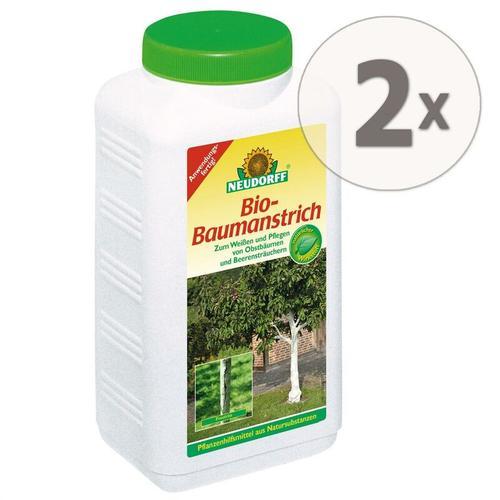 2 x 2 Liter Bio-Baumanstrich Baumschutz Baumpflege Weißen - Neudorff