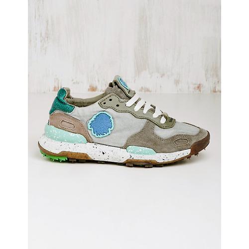 Satorisan Damen Stoff-Sneaker Zorina grau Turnschuhe