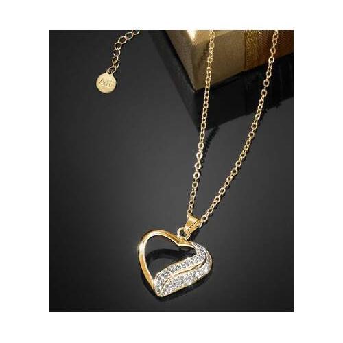 Die Halskette Kristall-Herz