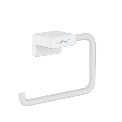 Hansgrohe AddStoris Toilettenpapierhalter B: 141 H: 77 T: 40 mm weiß matt 41771700