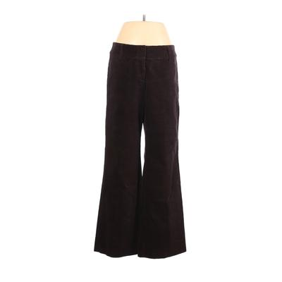 DKNY Cord Pant: Brown Solid Bottoms - Size 6