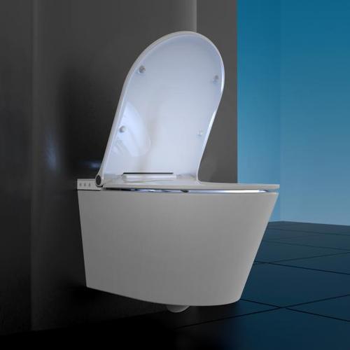 Schütte Cesari Dusch-WC L: 59,2 B: 37 cm, mit WC-Sitz 92100, EEK: A+