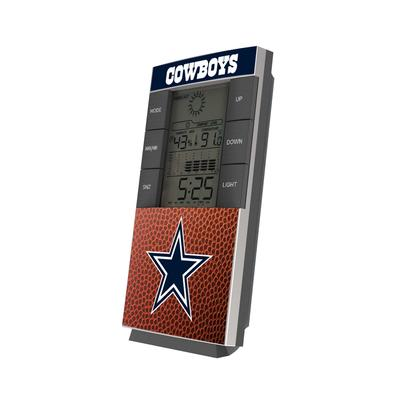 Dallas Cowboys Football Digital Desk Clock