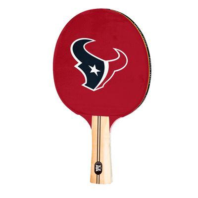 Houston Texans Logo Table Tennis Paddle