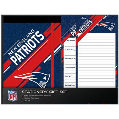 New England Patriots Three-Piece Stationery Set