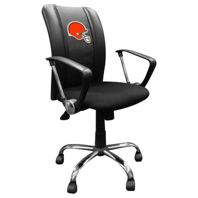 Cleveland Browns Team Curve Task Chair