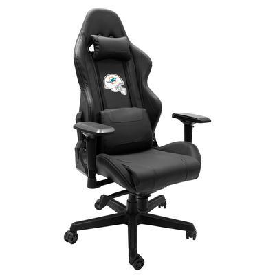 Miami Dolphins Helmet Logo Xpression Gaming Chair