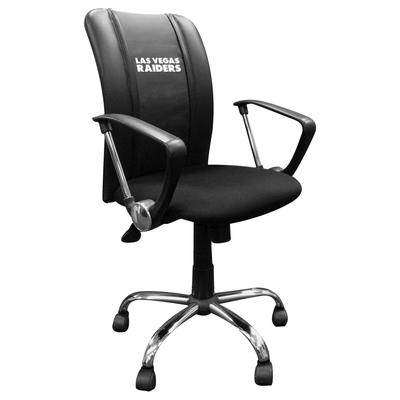 Las Vegas Raiders Curve Task Office Chair