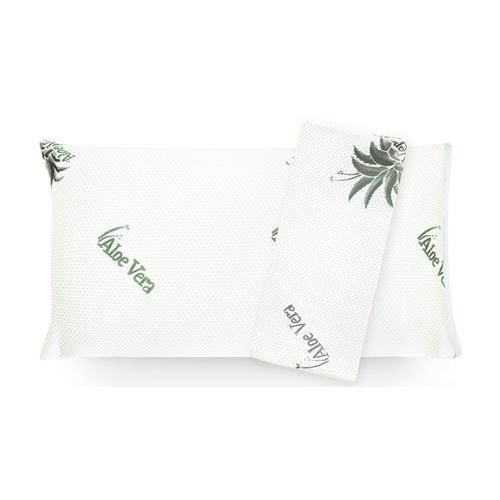 Aloe Vera Kissen mit 2 Kissenbezügen