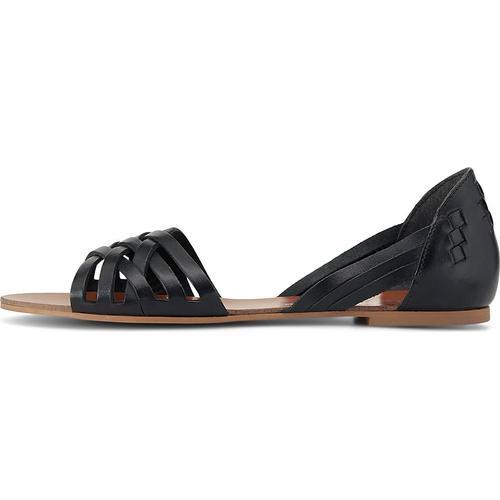 COX, Sommer-Sandale in schwarz, Sandalen für Damen Gr. 36