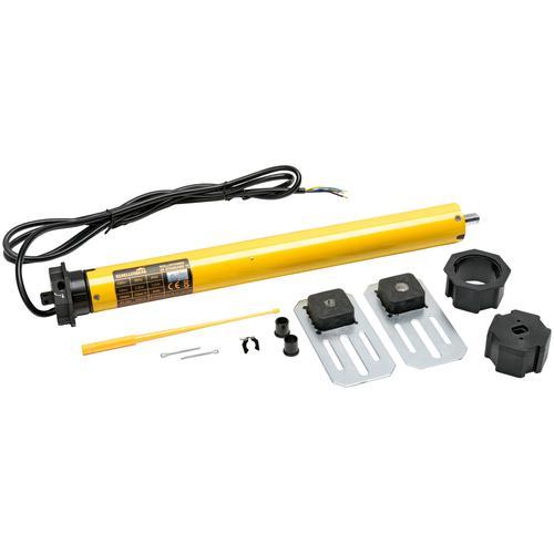 SCHELLENBERG Rollladenmotor 20615 Maxi STANDARD 15Nm, Rohrmotor 60 mm/15Nm, Smart Home gelb Rolllädenmotor Rollläden Bauen Renovieren