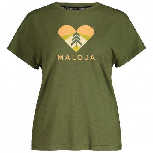 Maloja - Women's KlappertopfM. - T-Shirt Gr XS oliv