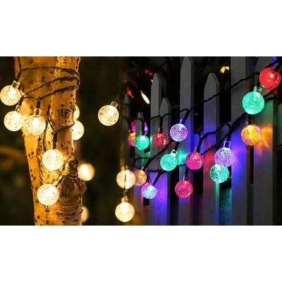 Guirlande lumineuse avec 20 ampoules : Blanc chaud / 1