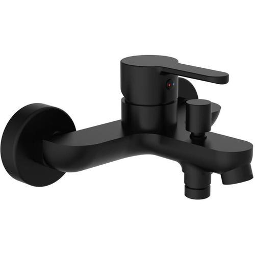 SCHÜTTE Mischbatterie für Badewanne DENVER Mattschwarz