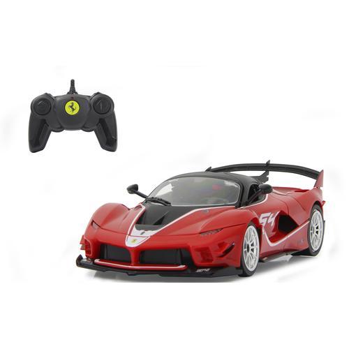 Jamara Modellbausatz Ferrari FXX K Evo 1:18, rot - 2,4 GHz, 1:18 Kinder Modellbausätze Bauen Konstruieren