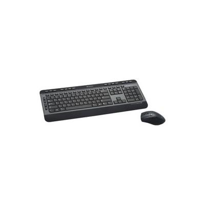 Verbatim Black Wireless Multimedia Keyboard with 6 Button Mouse