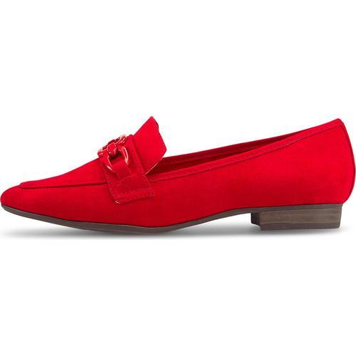 MARCO TOZZI, Slipper in rot, Slipper für Damen Gr. 37
