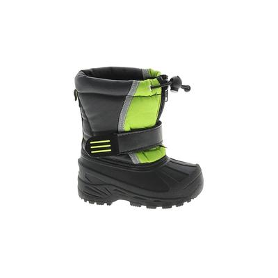 Koala Kids Boots: Black Solid Shoes - Size 5