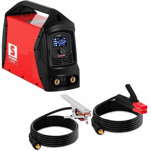 Elektroden Schweißgerät E-Hand-Schweißgerät 230 A Arc Force Hot Start Anti Stick
