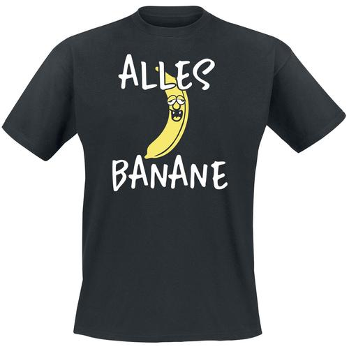 Alles Banane Herren-T-Shirt - schwarz