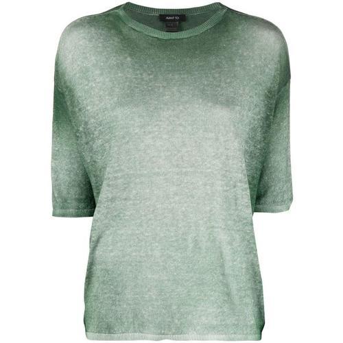 Avant Toi T-Shirt mit Farbverlauf