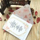 Carte d'invitation mariage 10 pi...