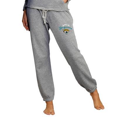 Women's Concepts Sport Gray Jacksonville Jaguars Mainstream Knit Jogger Pants
