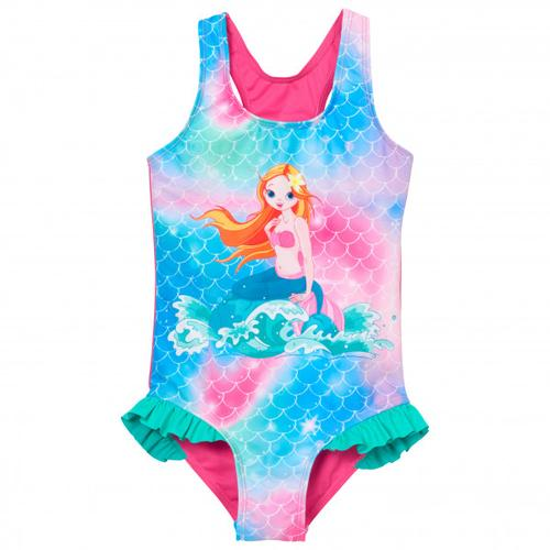 Playshoes - Kid's UV-Schutz Badeanzug Meerjungfrau - Badeanzug Gr 86/92 rosa/türkis