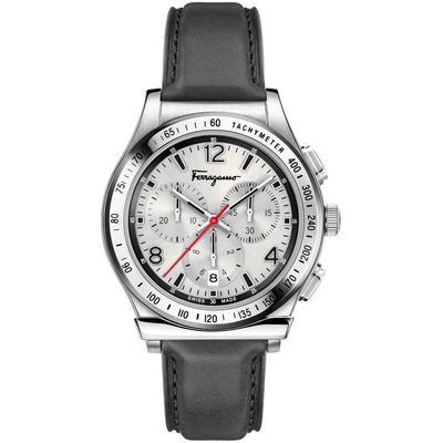 Ferragamo 1898 Chronograph Watch - Metallic - Ferragamo Watches