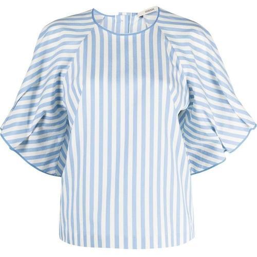 ODEEH Bluse mit Print